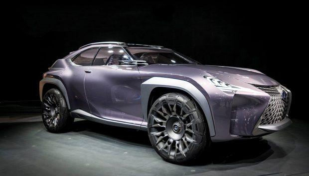 lexus-ux-concept-live Geleceğin Otomobil Lastiği