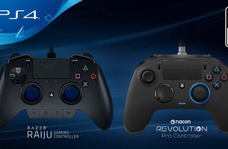 Profesyonel PS4 Oyun Kolu, Razer Raiju ve Nacon Revolution