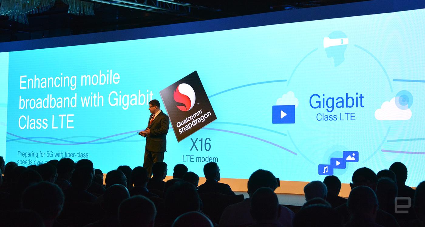 Mobilde Gigabit Devri Başlıyor, Qualcomm Snapdragon X16