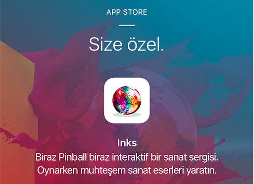 iPhone 7 Hatırına Ücretsiz INKS Pinball Oyunu
