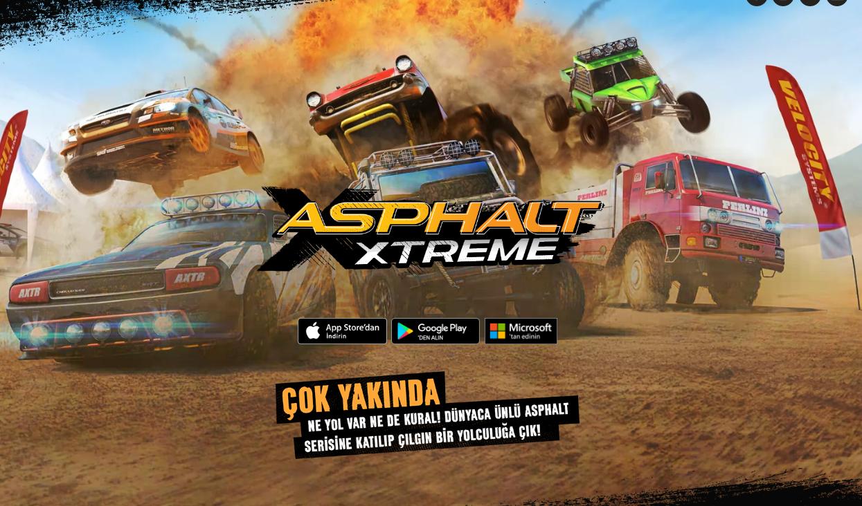 Asphalt Xtreme: Mobil Yarışlar Off-Road'a Kayıyor
