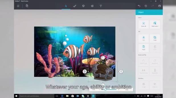 Paint Uygulamasının Yeni Versiyonu 3D Çizimler Yapılabilecek!