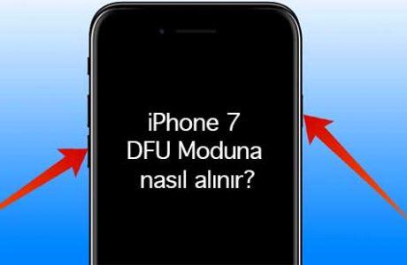 iPhone 7 DFU Moduna Nasıl Alınır?