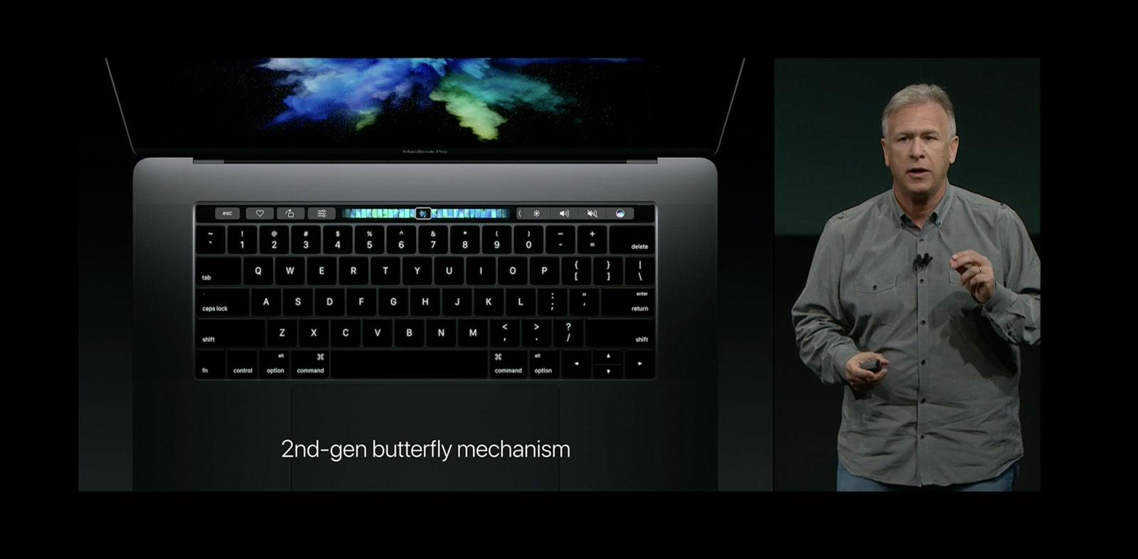 Yeni MacBook Pro Dokunmatik OLED Touch Bar