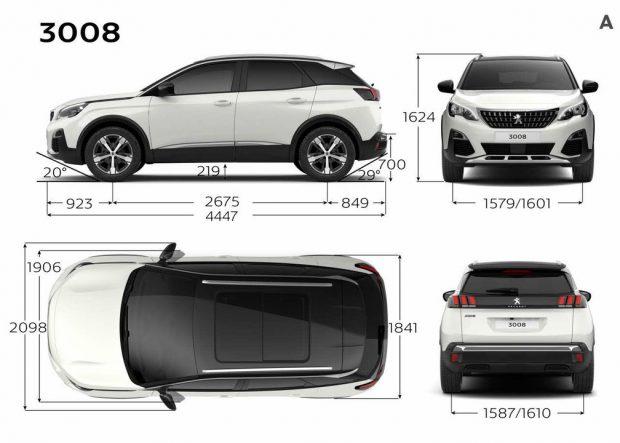 Yeni SUV Peugeot 3008 Fiyatları