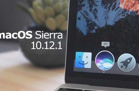 Apple, macOS Sierra 10.12.1 Güncellemesini Yayınladı.