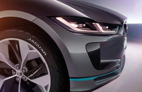 Jaguar ilk Elektrikli Konsept Otomobilini Tanıttı, Jaguar i-Pace!