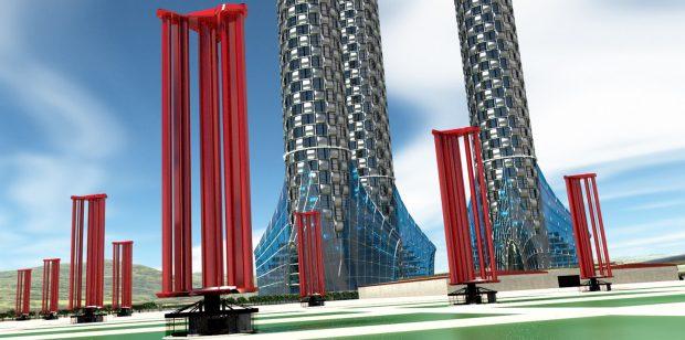 1challenergy-vertical-axis-magnus-wind-power-generator-1 Yenilenebilir Enerji: 6 Yenilikçi Rüzgar Türbini Tasarımı