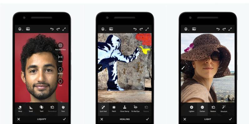 Ücretsiz Adobe Photoshop Fix Android Yayımlandı