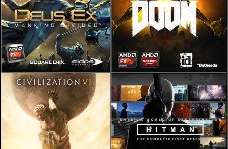Oyunseverler için AMD'den 4 Ayrı Oyun Kampanyası