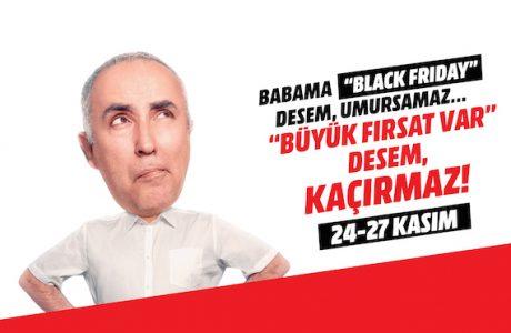 "Media Markt "" BÜYÜK FIRSAT VAR "" Kampanyası, Black Friday!"