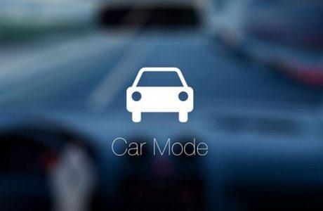 Akıllı Telefonlara Araba Modu, Car Mode Geliyor