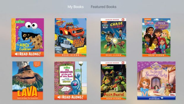 iBooks StoryTime Uygulaması, Çocuk Hikayeleri Apple TV'de