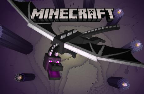 Ender Dragon Windows 10 Minecraft için Geliyor!