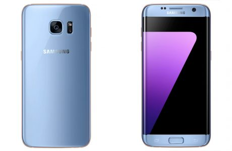Note 7 Özellikli Galaxy S7 Edge Mercan Mavi