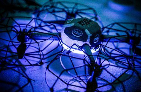 Intel Shooting Star: Intel Işık Showları için Drone Duyurdu