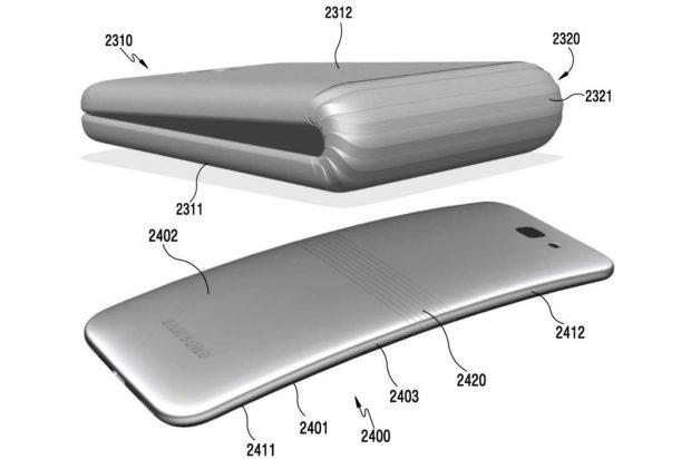 Samsung OLED Ekranlı Katlanabilir Telefon