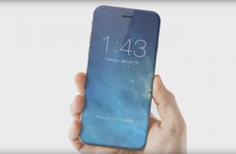 iPhone 8 Plus Çerçevesiz, Kavisli 5.8-inç OLED Ekran!