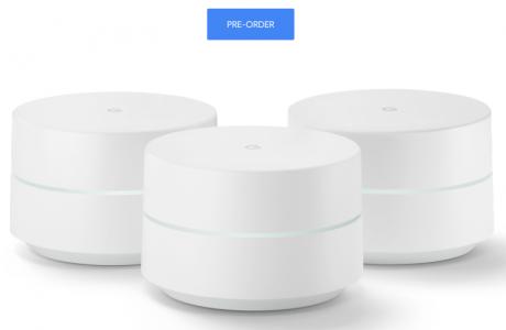 Google WiFi, Ön Sipariş Başladı, Sadece 129$