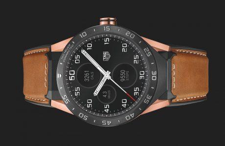 9900 Dolarlık Tag Heuer Rose Gold Akıllı Saat