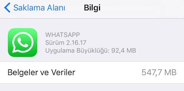 whatsapp iPhone'da Yer Açma! En Hızlı ve Kolay Yöntemi Burada! Pratik Yöntem!
