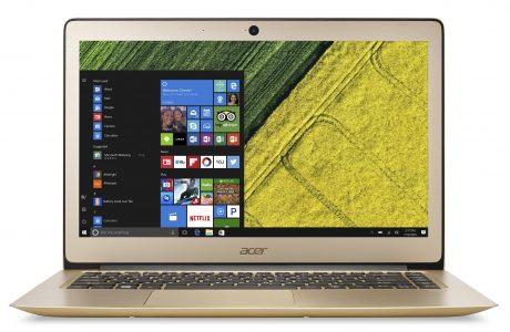 Dünyanın 1 cm'den ince ilk dizüstü bilgisayarı Acer Swift 7 Türkiye'de!
