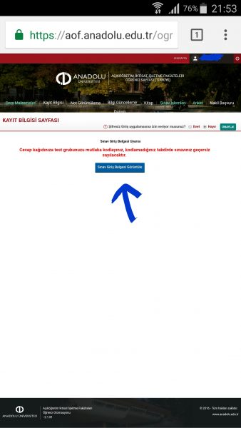aof-sinav-giris-belgesi-6 aöf sınav giriş belgesi görülmüyorsa ne yapalım