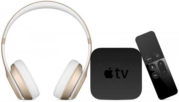 Apple-tv-bluetooth kulaklık ayari