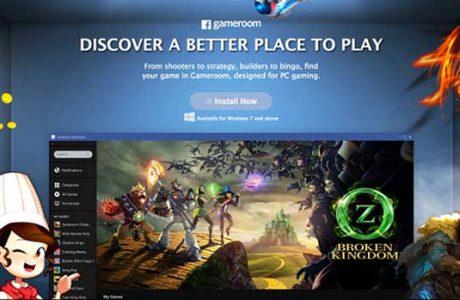 Steam'e Yeni Rakip, Facebook Gameroom