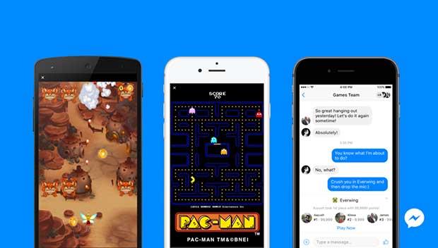 Facebook Messenger ile Oyun Oynayabilirsiniz