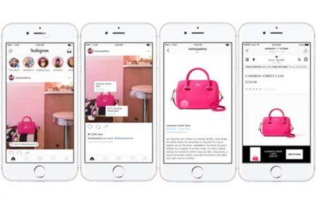 Instagram'a Alışveriş Özelliği Geliyor.