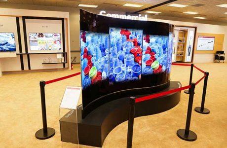 LG'den Esnek Duvar Kağıdı OLED TV!