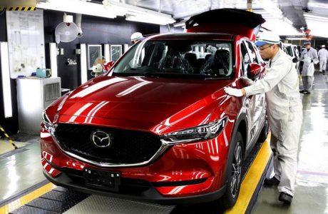 Yeni Mazda CX-5'in Üretimi Japonya'da başladı, 2017 Mazda CX-5!