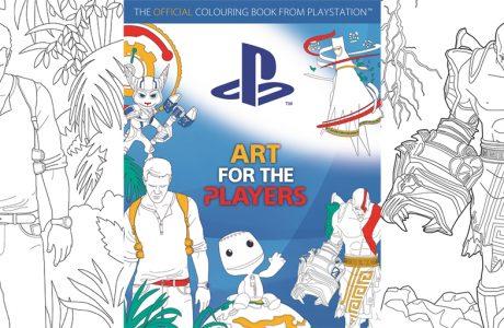 Resmi Playstation Boyama Kitabı Satışa Çıktı