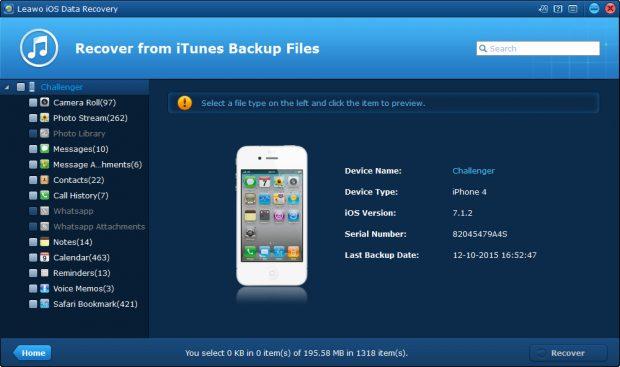 iPhone Üzerinde Silinmiş Verileri Kolayca Kurtarın!