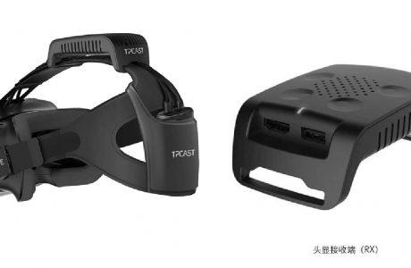 Kablosuz HTC Vive VR Kulaklık, TPCAST Ön Sipariş Başladı