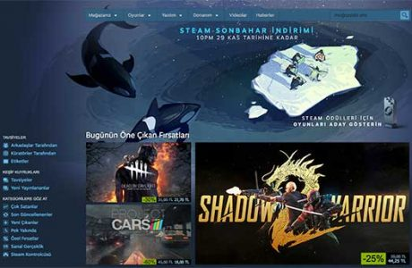Steam'den Black Friday İndirimi!