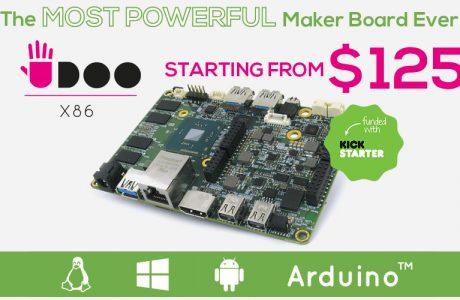 Raspberry Pi 3'ten 10 Kat Hızlı Udoo X86 Ön Siparişle Satışta