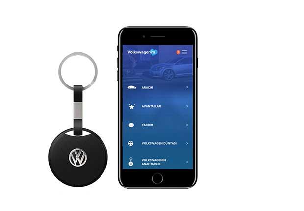 volkswagenim anahtarlık Volkswagen Sahipleri İçin Akıllı Anahtarlık ve Uygulama!