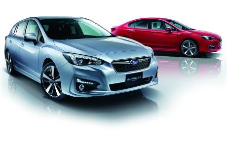 Yeni Subaru Impreza Japonya'da Yılın Otomobili