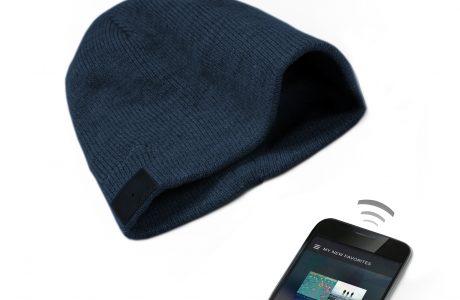 Sıcacık Tutan Teknolojik Kablosuz Kulaklıklı Bere