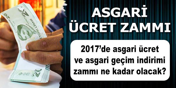 2017 Asgari Ücret, 1404 TL 6 Kuruş Oldu, 6.5 Milyon Kişiyi İlgilendiriyor!