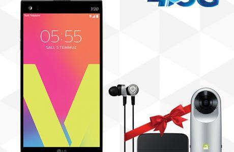 Kamera ve Kulaklık Hediyeli LG V20 Özel Paket, N11'de