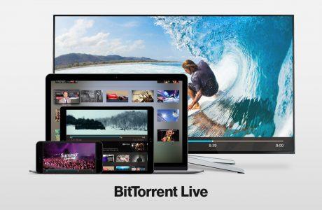 BitTorrent Live iOS, iPhone için BitTorrent Live Hazır