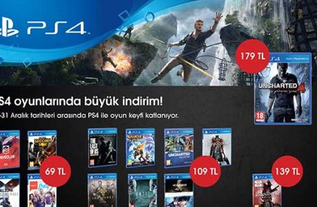 PS4 Oyunlarında Yılsonu İndirimi