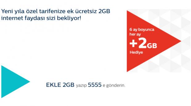 Türk Telekom'un Yeni Yıl Hediyesi, 2GB Mobil internet