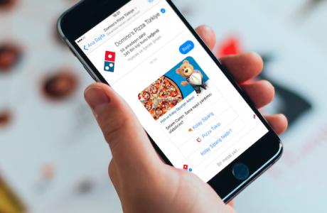 Domino's Pizza'da Facebook'tan Sipariş Devri Başladı