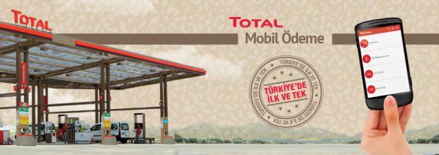 TOTAL Mobil Ödeme Kampanyası 75TL'ye Anında 25TL İNDİRİM!