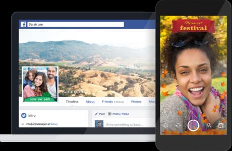 Facebook Fotoğraf Çerçeveleri Özelliği Devreye Giriyor!