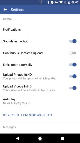 Android Kullanıcılarına Facebook HD Video Yükleme Desteği!